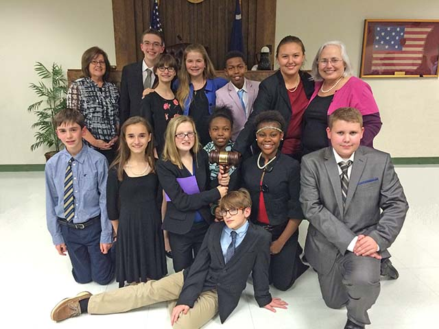 Merriwether Wins Middle School Mock Trial Competition