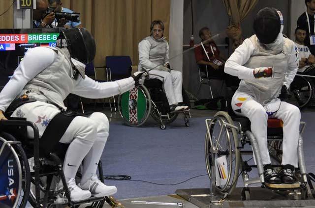 Ellen Geddes USA Fencing Team Gold and Silver Medalist