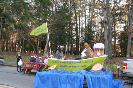Float Winners in Edgefield Parade of December 6, 2015