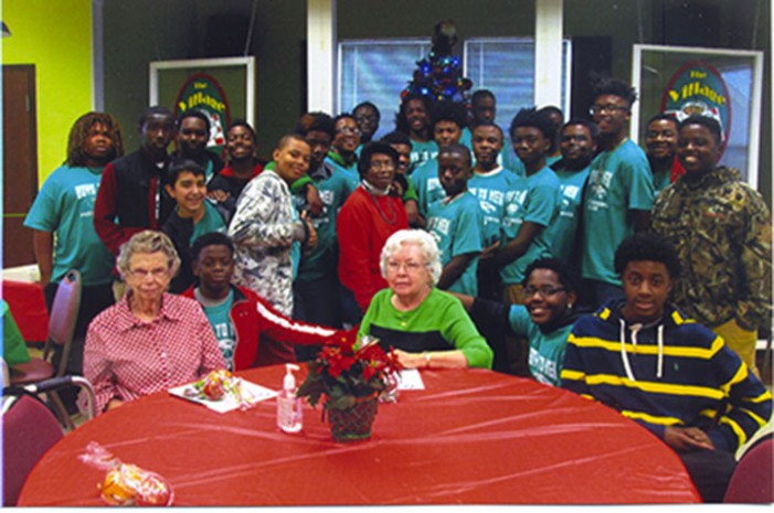 J.E.T. Boys-to Men Visited Senior Citizens