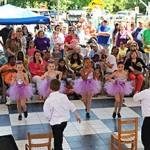 Young dancers show what they can do at last year's Peach Blossom Festival.