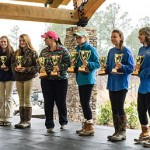 These young women posted top scores in their divisions and took home trophies for their efforts.