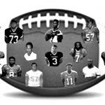 Top row left to right: Bryan Hurt, Rycharde Coates, Christie Corley Middle Row left to right: Tay Merriweather, Malik Hightower, Dalton Swires, Malik Nicholson, Chandlor Talbert Bottom Row left to right: DeAndre Ryan, William Bedenbaugh, Chad Gilchrist, Stanley Roland