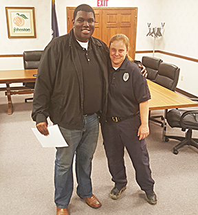 Town of Johnston Hires Female Police Officer First in Nearly 30 Years