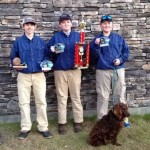 Intermediate Team (L-R):  Colby Martin, Will Hood, and Garret Hammond