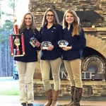 High School Ladies Team (L-R):  Lindsey Glover, Chelsea Glover, Gracie Herrin