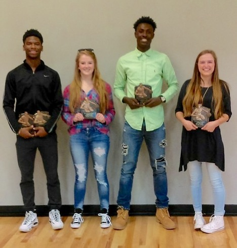 Rycharde Coates, Lauren Hammett, Nick Carr, and Beth Warnken have been named All Region Players. Rycharde Coates was also named Region MVP.