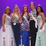 Left to Right: Truett Taylor - Miss Freshman; Ashley Metts - Miss Sophomore;  Carolyn Barrett Guess - Miss Statesman; Bailey Pedersen - Miss Senior; Savannah Talbert - Miss Junior, Peoples Choice, Photogenic.