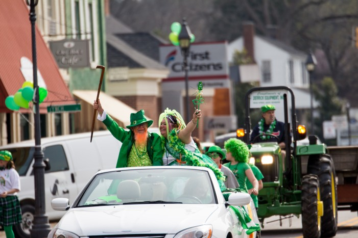 Edgefield's 10th Annual Shamrock Run/Walk Oyster Roast to Follow with Music