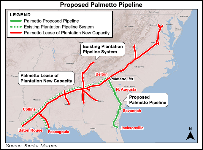 Palmetto Pipeline Project Suspended