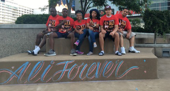 Area Group Attended Ali Memorial Services