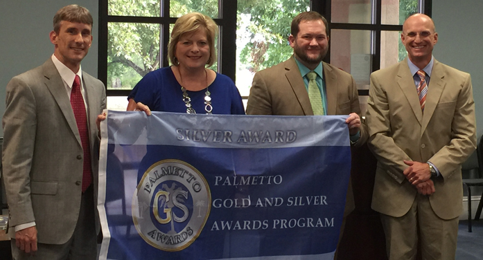 Local Schools earn Palmetto Gold and Silver Awards