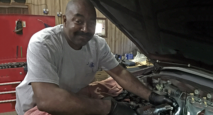 Tony Frazier – from under the hood to behind the desk