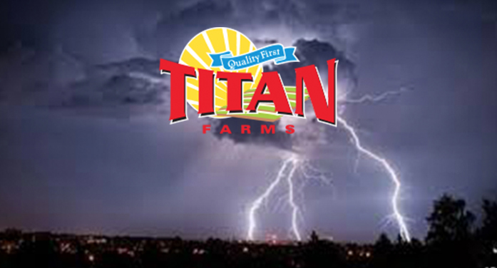 Titans Farms Comments on Workers Injured by Lightning