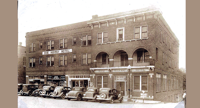 THE DIXIE HIGHWAY HOTEL – A large modern hotel for Edgefield