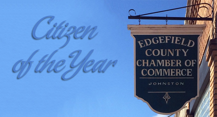 Edgefield County Chamber – Citizen of the Year Award
