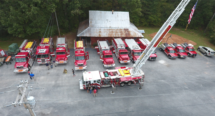 Merriwether Fire Department Holds Open House