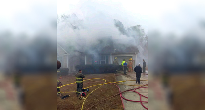 Bakers Branch fire