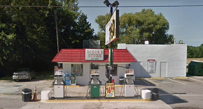 Dodge's Convenience Store Closed for Repairs