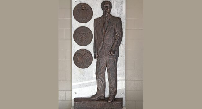 Strom Thurmond Statue Donated to  the High School that Bears His Name