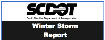 SCDOT Winter Storm Report