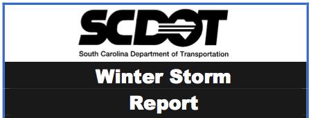 SCDOT Winter Storm Report