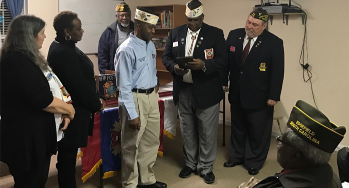 VFW Post 6932 Awards Commander