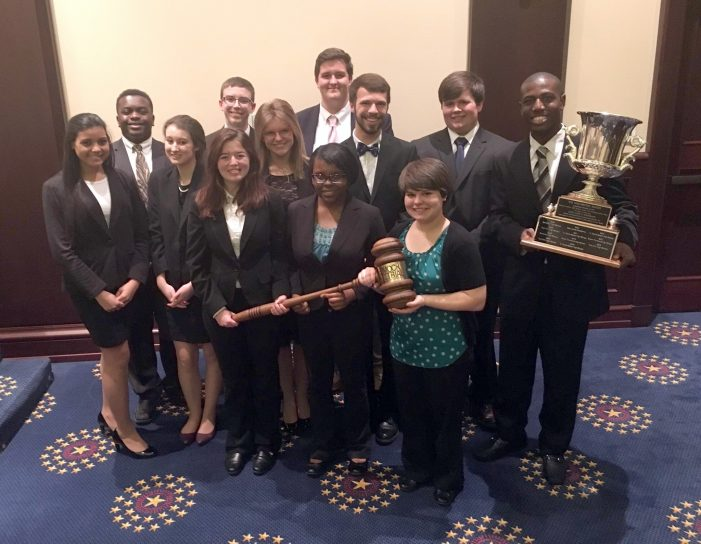 State Championship Win by STHS Mock Trial Team