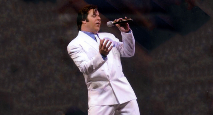 'Elvis' Singing Gospel at Horn's Creek, May 20