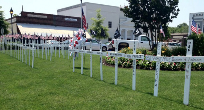 Memorial Day Ceremony May 29, 2017