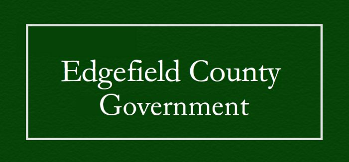 Edgefield County Government Offices Closed Monday