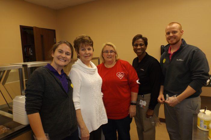 The Community Helps Seniors Celebrate Valentine's