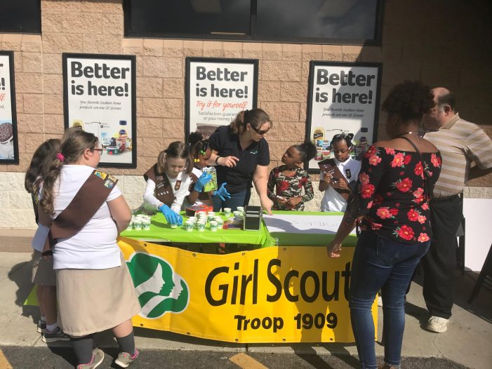 Nat'l Girl Scout Cookie Weekend 2018