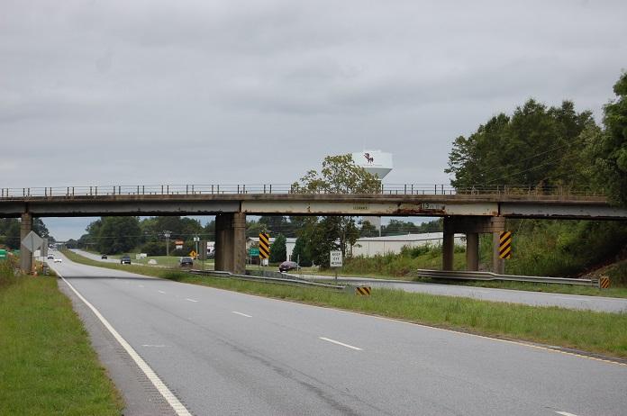 SCDOT Advisory on Bridge