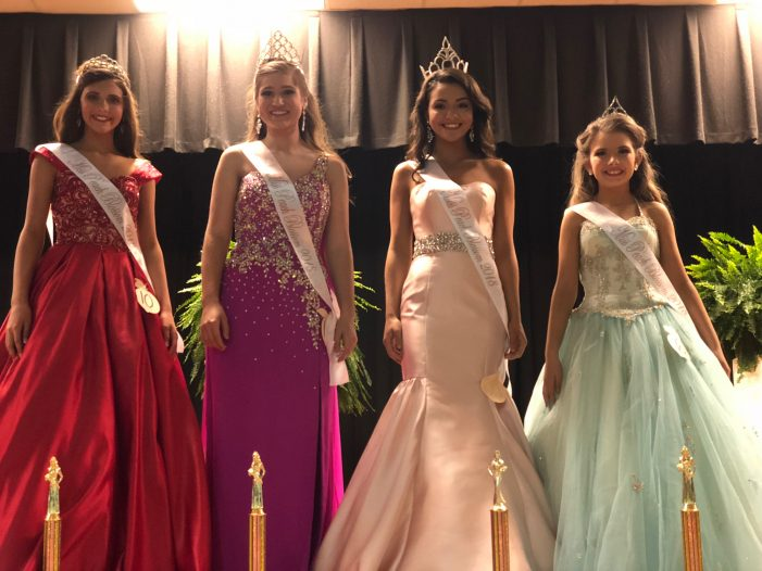 Peach Blossom Pageant Chooses Queens