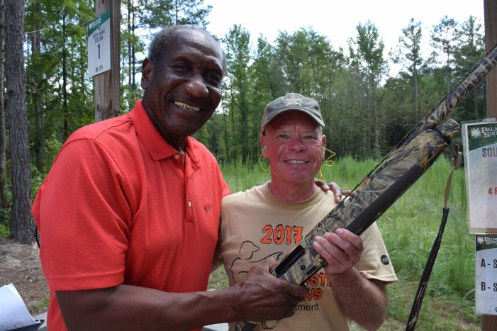 Bustin' Clays for United Way