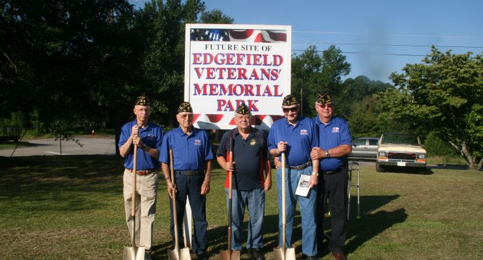 Edgefield Veterans' Memorial Park Underway