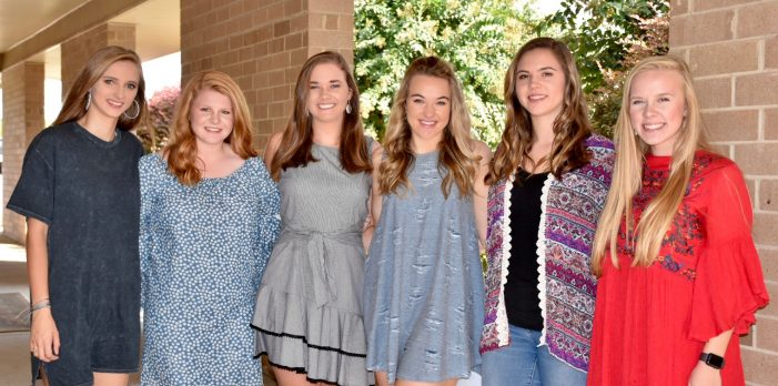 Homecoming Court for Wardlaw Academy