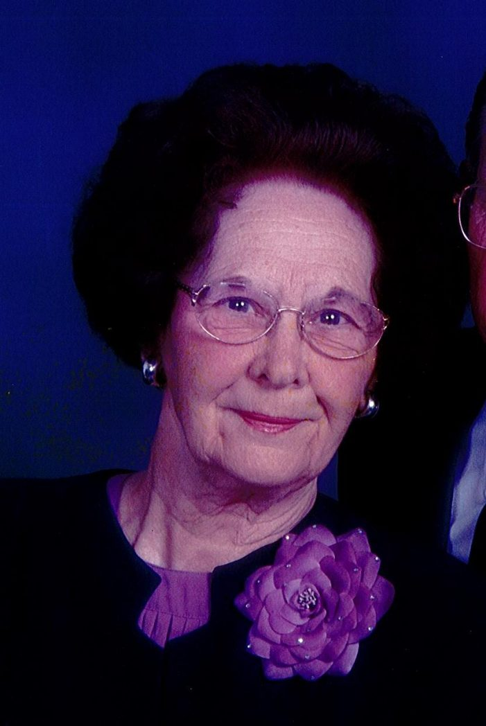 Saluda, SC   –  Mary Anne Crawford