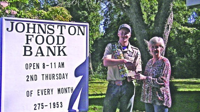Schump Aston and an Edgefield Boy Scout Eagle Project