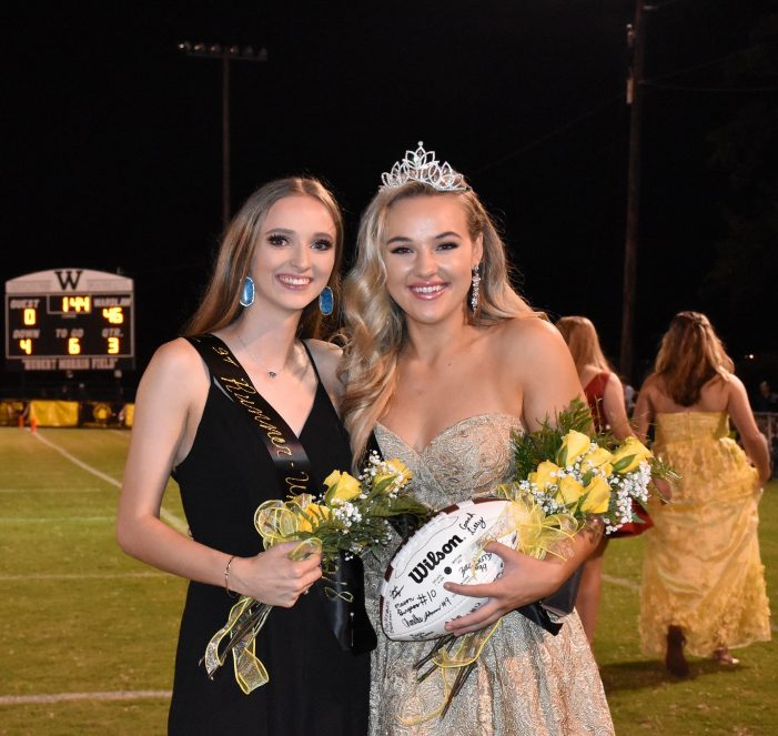 Wash Crowned Homecoming Queen