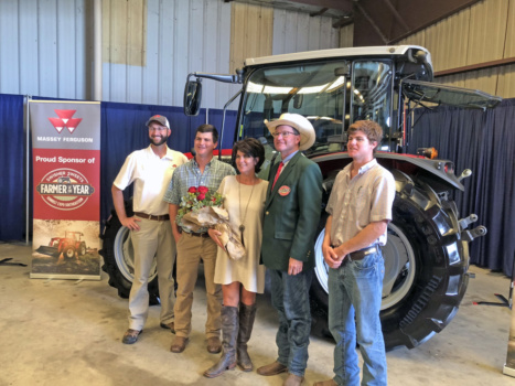 Clemson alumnus Kevin Yon named Southeast's top farmer