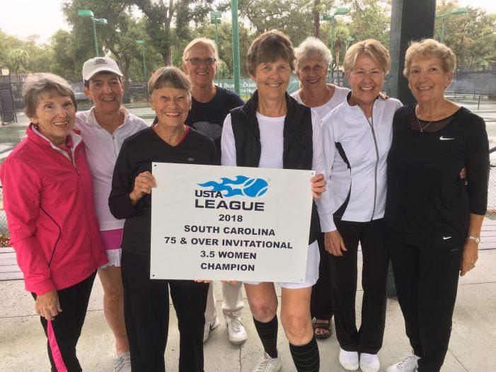Tennis Winners at age 75-Plus