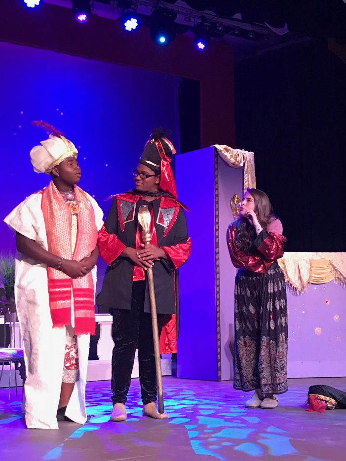 Alladin Junior at Strom Thurmond Theatre