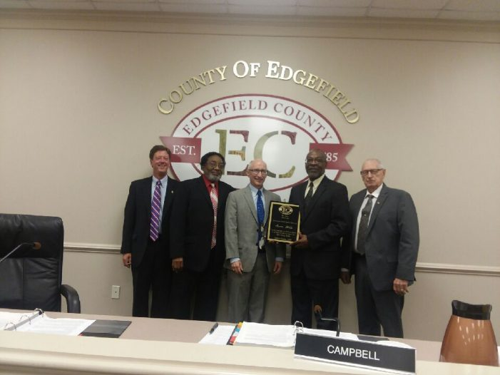 Councilman James Bibbs honored