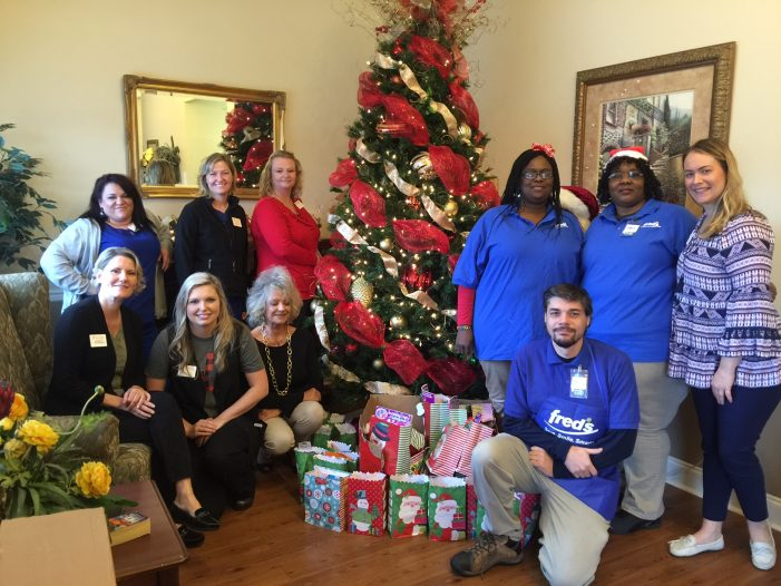Sharing Christmas with 118 Nursing Home Residents