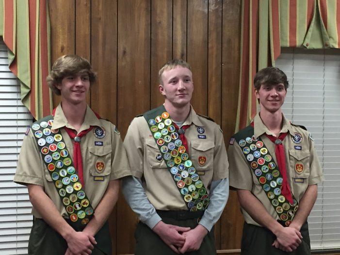 Edgefield Scout Troop 30 Announces Eagle Scouts