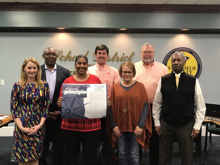 Edgefield County Schools Celebrates School Board Recognition Month