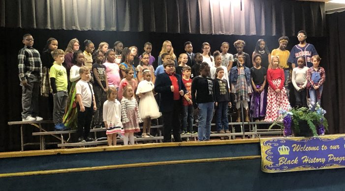 "JES celebrates ""First Time"" Black History Program"