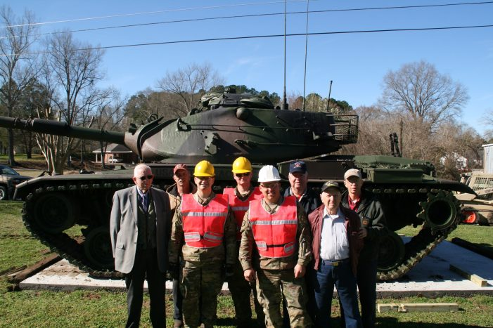 Veteran's Memorial Park Takes Giant Step Forward